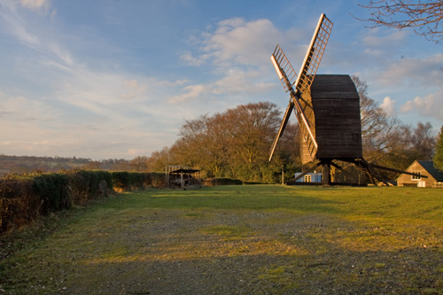 Nutley Windmill Early March Ashdown Forest