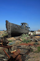 Old Boat at Rest, Dungeness Beach, Kent