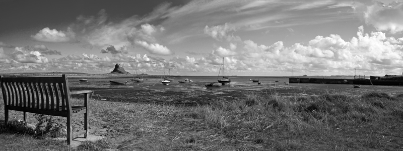 Harbour at Holy Island