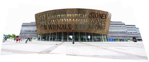 Wales Millenium Centre, Cardiff Bay