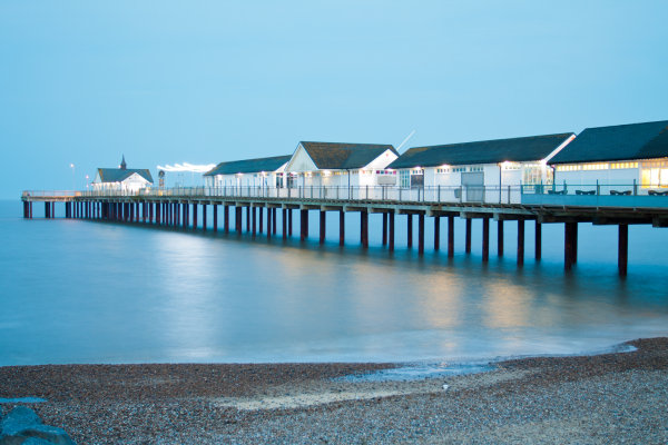 Southwold Pier at Night