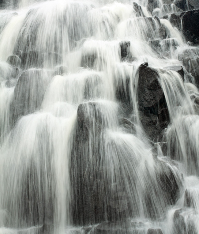 Waterfalls and Faces, Lewis, Hebrides