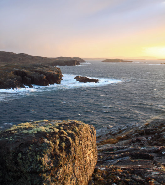 Sunset, Gearrannan, Isle of Lewis