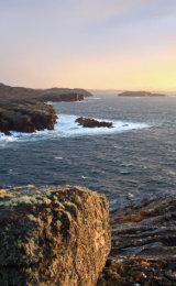 Sunset, Gearrannan, Isle of Lewis