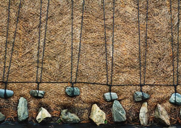 Roof Details - Blackhouse, Lewis, Scotland