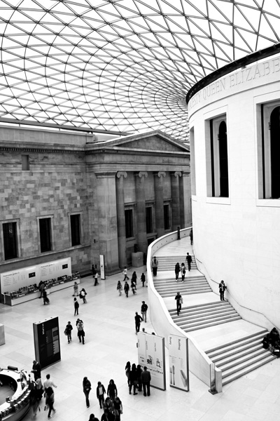 The Courtyard, British Museum