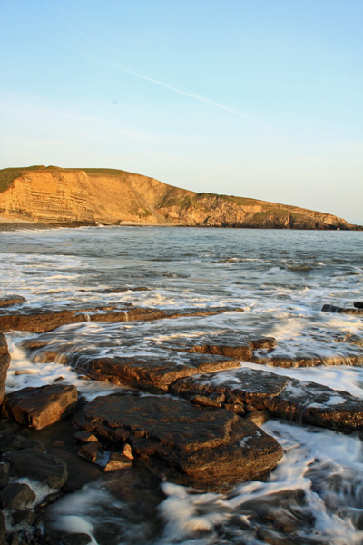 Southerndown Beach, Sunset June 2011