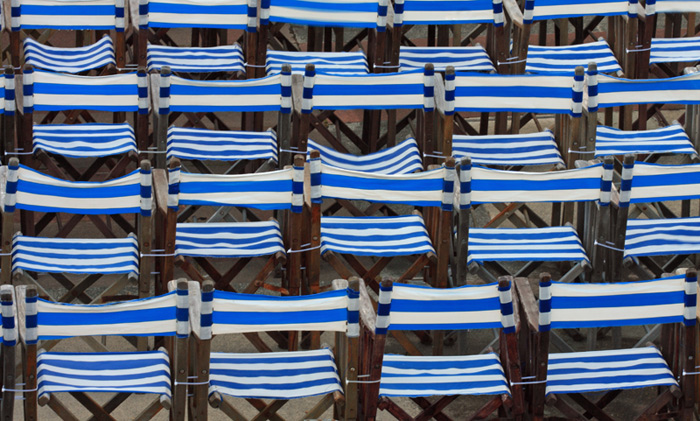 Deck Chairs on...
