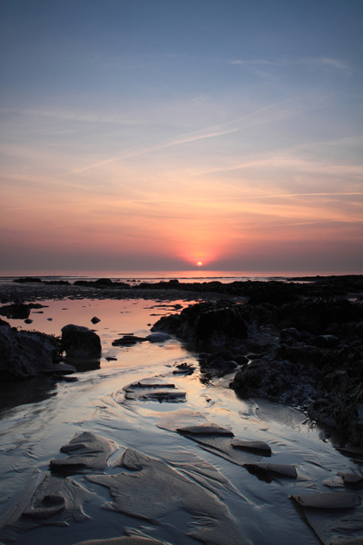 Birling Gap Sunset I
