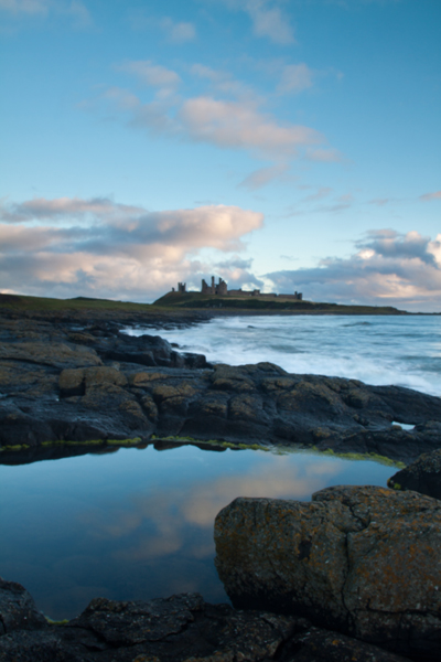 Sunrise at Dunstanburgh
