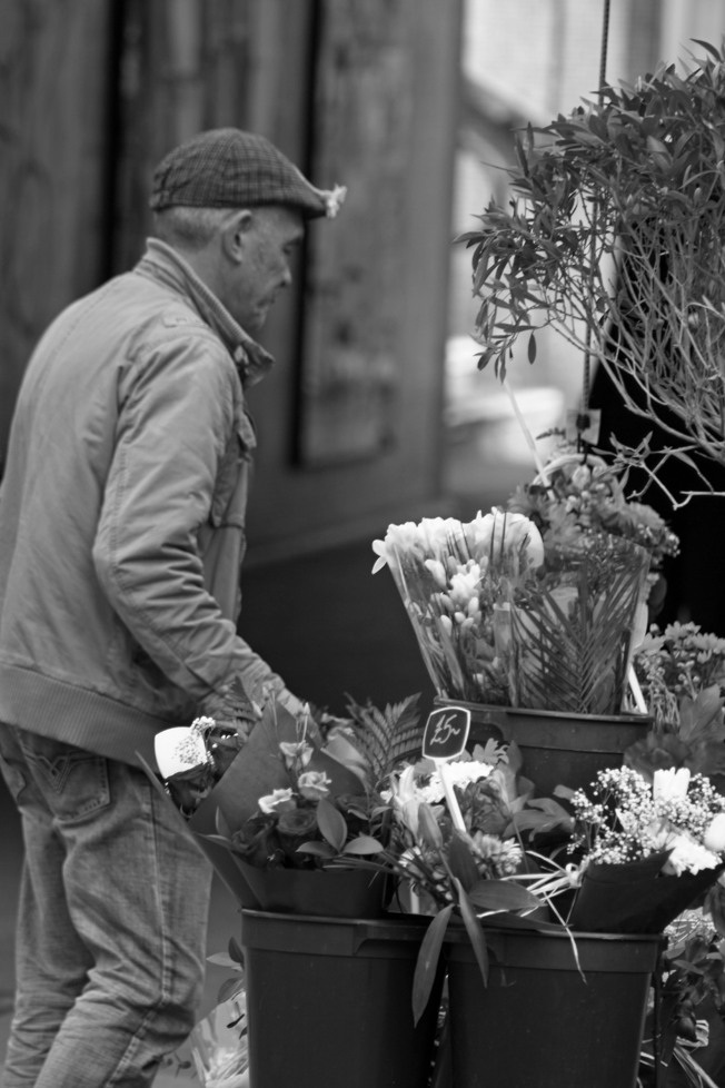 The Flower Seller at the Bearpit