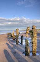 Sandsend Beach, Nr Whitby, North Yorkshire