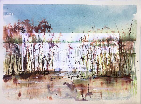 Inky reeds