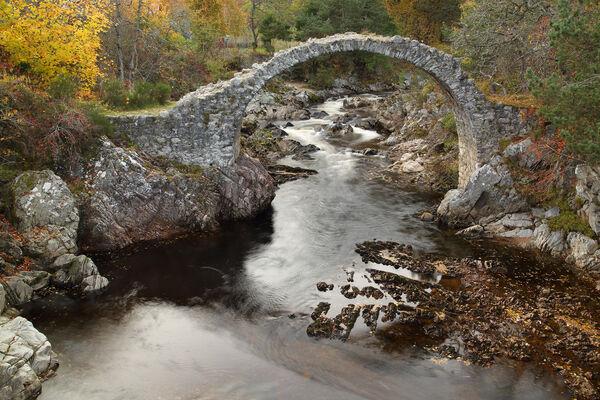 Carrbridge Packhorse Bridge