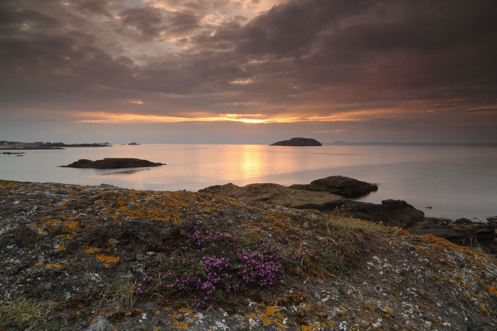 August 2021 - Sunset, Firth of Forth