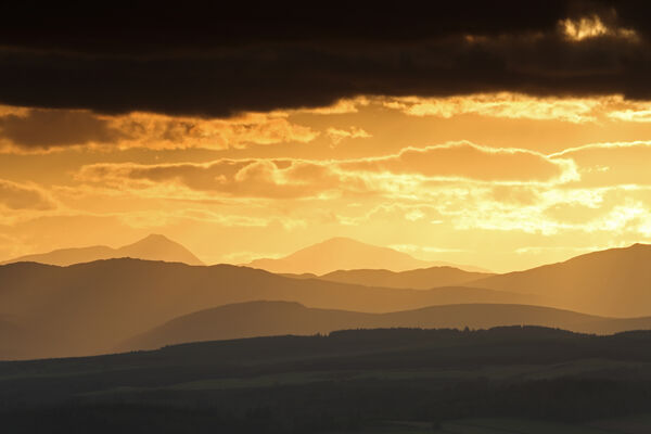 August 2019 - Stirlingshire Hills, Bridge of Allan
