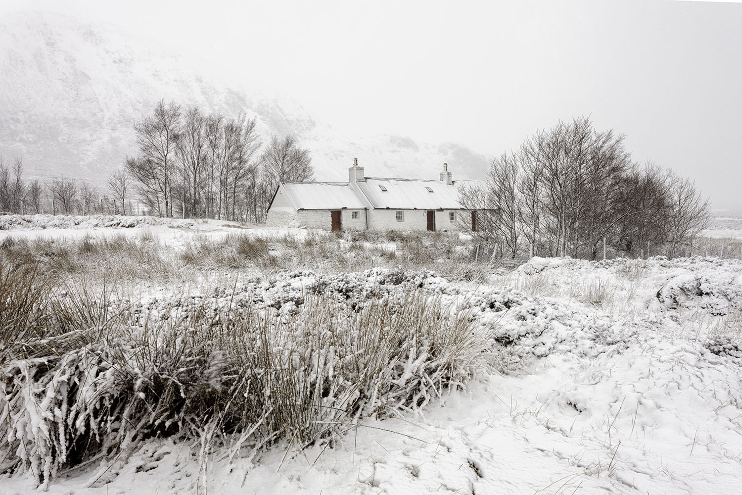 Blackrock cottage, Glencoe.