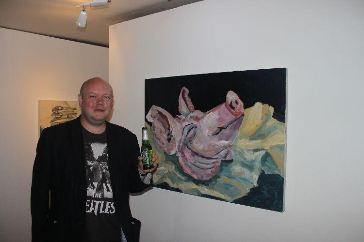 Harry Pye at Disjecta Membra