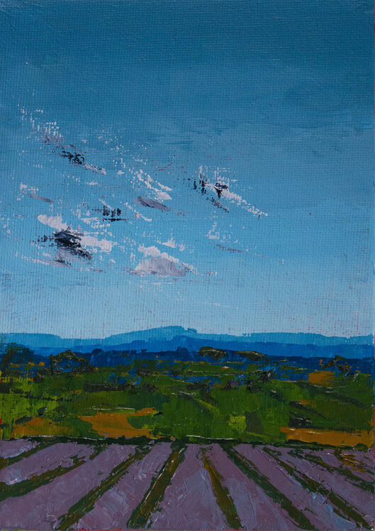 Remembered Walk XVII: Passing Clouds, Norfolk