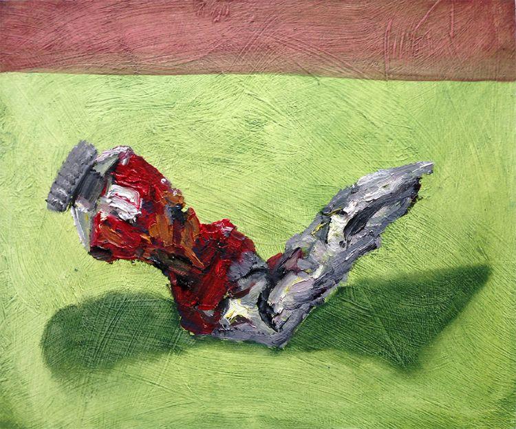 Paint (Alizarin Crimson)