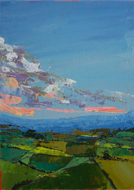 Remembered Walk in the South Downs (SOLD)