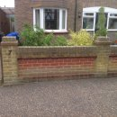 This project is to remove the wall and provide off road parking whilst looking after the environment by using Ground tiles which are infilled with shingle or decorative stone.