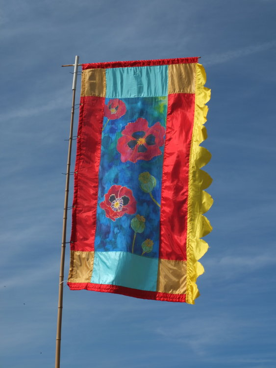 Poppies Flag