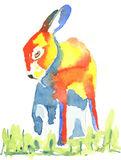 Bashful Hare print