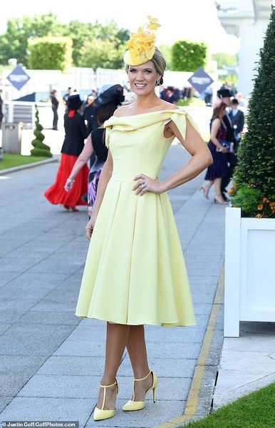 Charlotte Hawkins for ITV Racing