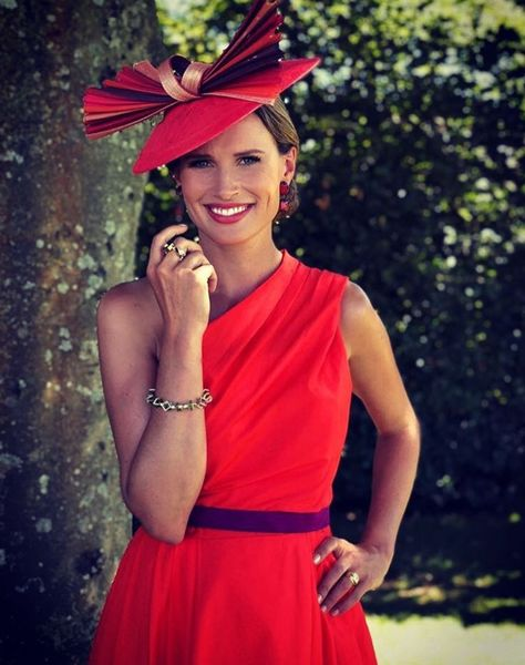 Francesca Cumani for ITV Racing featured front cover of The Times 2018