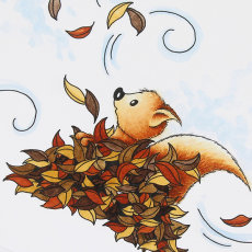 """""""Tumbling Leaves"""" from the """"Little Acorns"""" collection"""