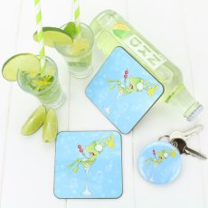 """""""Bottoms Up"""" collection coasters, bottle openers & keyrings."""