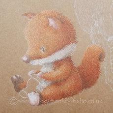 Fox cub Freddie