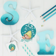 """""""Little Nipper"""" stationery & gifts """" from the """"Briny Blue"""" Collection"""