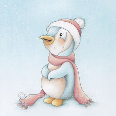 Snowy Penguin from  Collection