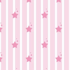 Stars & stripes -Pink