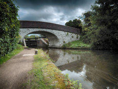 The Grand Union Canal, Rickmansworth, Hertfordshire
