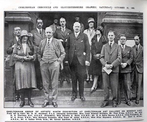 CGA Member's Photo 1928