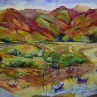 Low-Pyrenees-80x100cm-oil