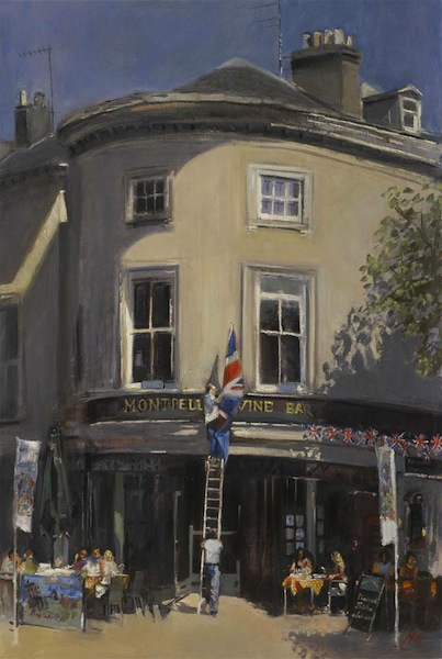 Preparations-for-the-Diamond-Jubilee-at-the-Montpellier-Wine-Bar