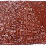 pile of Bricks, oil on paper 50x65cm