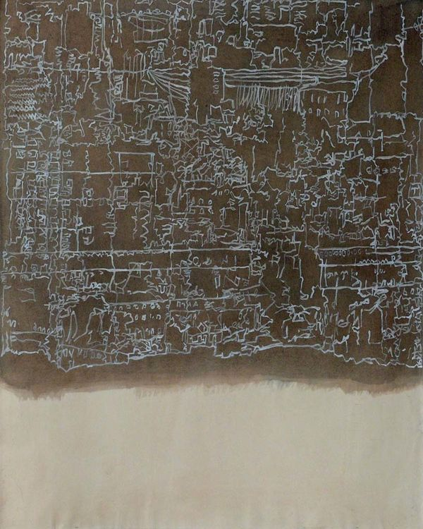 City Watercolour 2015 65x50cm