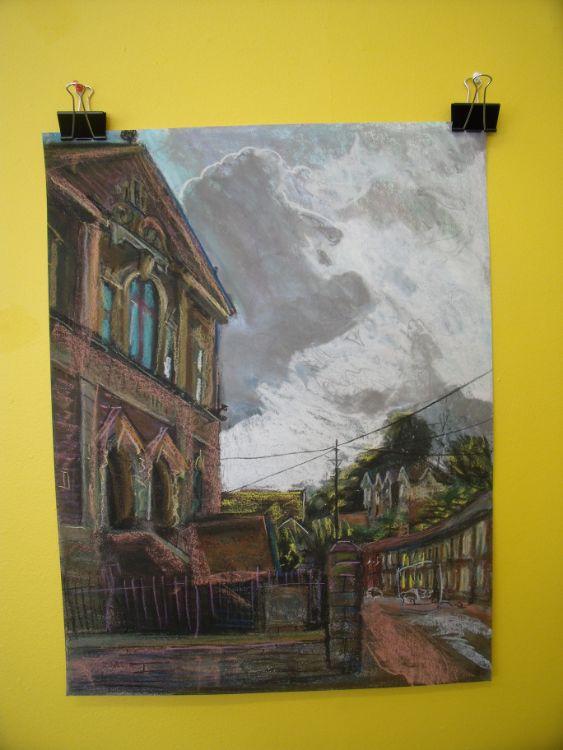 chapel drawing