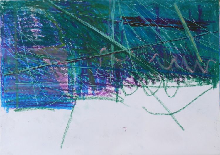 Lines in spaced 2019 30x40cm