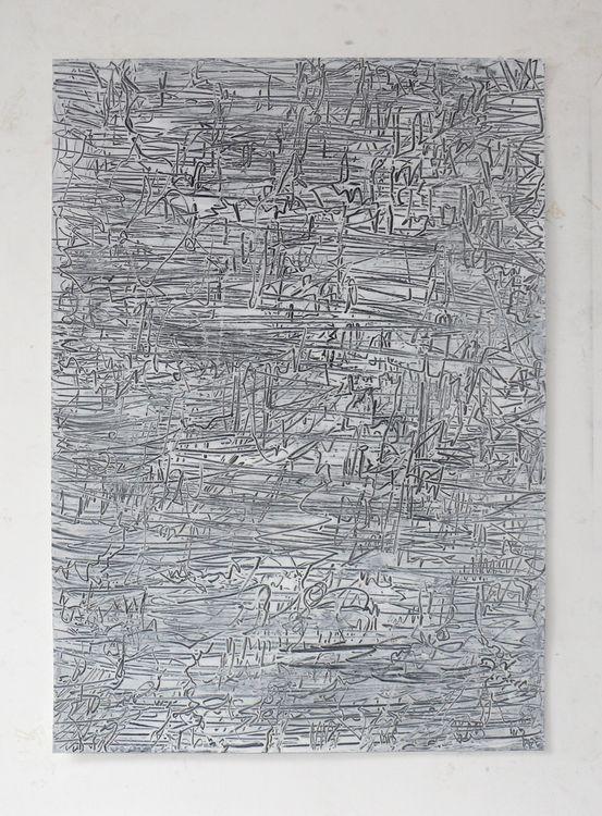 City 5 acrylic on paper 70x50cm 2020