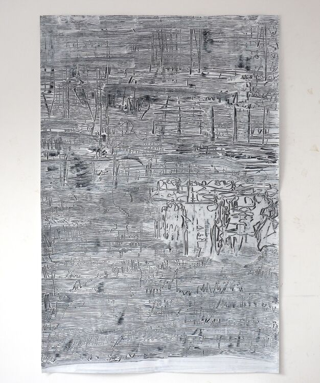 City, 2020 acrylic on paper 120x80cm