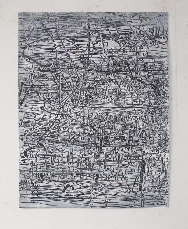 City, acrylic 65x50cm