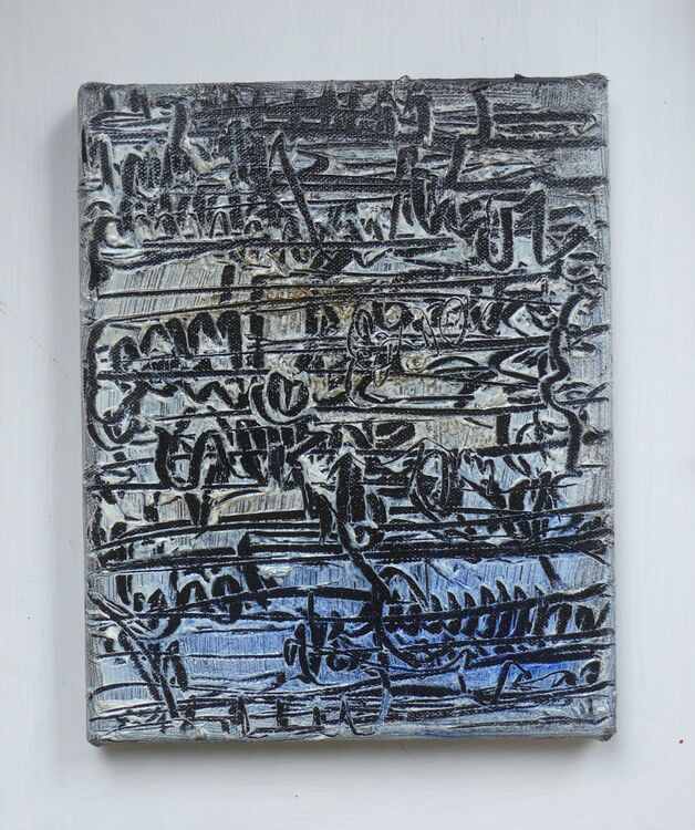 Small City 25x20cm oil on canvas
