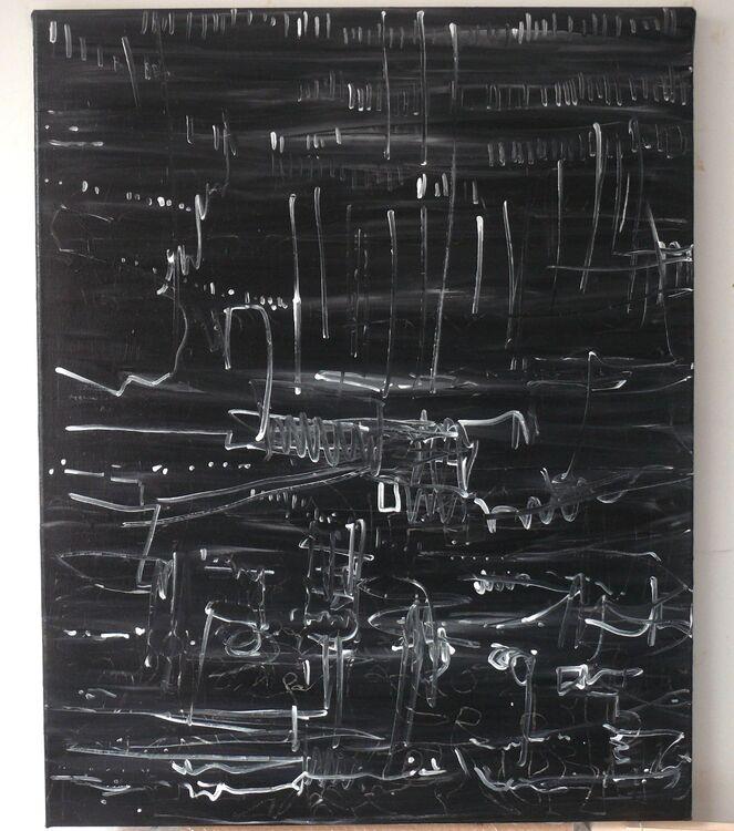 acrylic on canvas 100x80cm