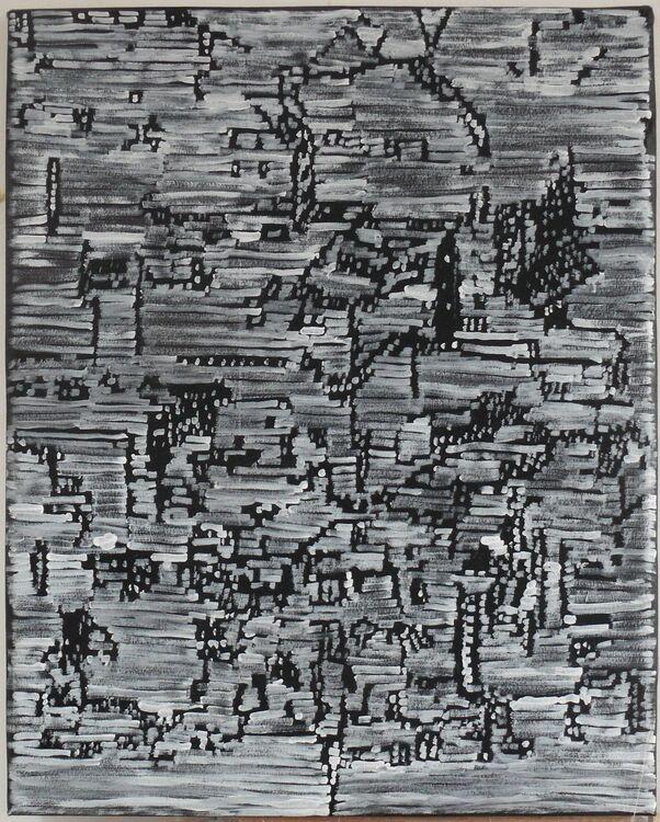 City, acrylic on canvas 100x80cm